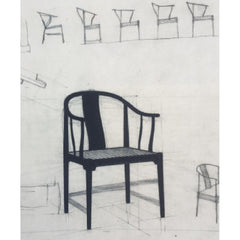 Hans Wegner China Chair original sketches