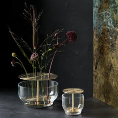 Fritz Hansen Ikebana Vases styled for Fall