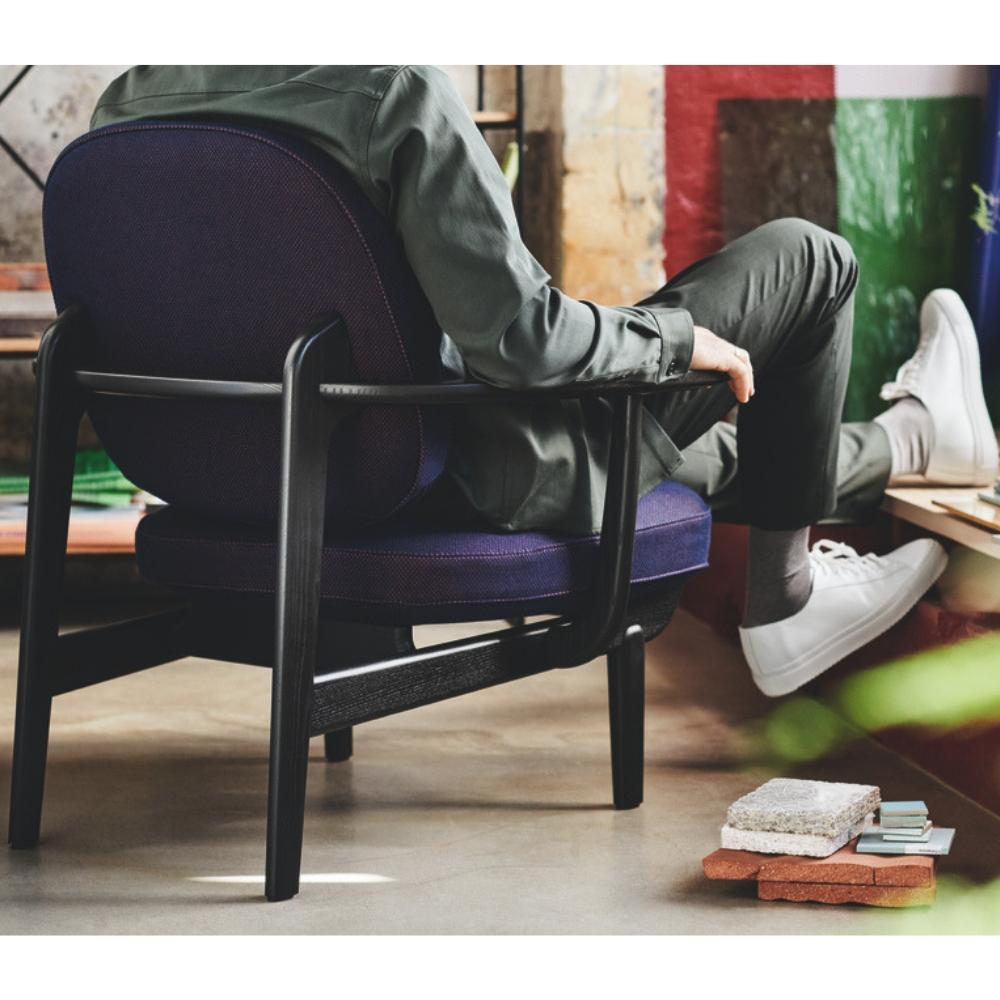 Stupendous Fritz Hansen Fred Lounge Chair Jh97 By Jaime Hayon Palette Bralicious Painted Fabric Chair Ideas Braliciousco