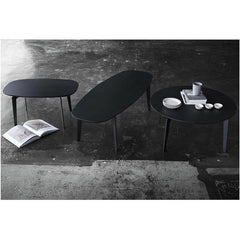 Fritz Hansen Join Coffee Tables Oak Black Lacquer