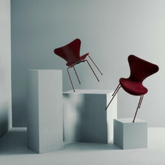 Fritz Hansen Series 7 Chairs Lala Barberry in Room on Art Blocks