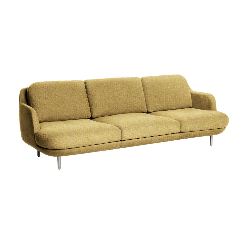 Fritz Hansen Lune Sofa by JH300 by Jaime Hayon in Christianshavn Yellow