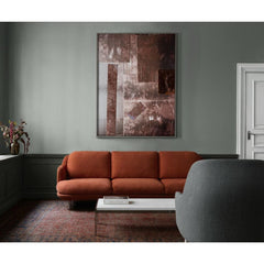 Fritz Hansen Lune Sofa by Jaime Hayon JH300 in Designer Selection Linara Gingersnap