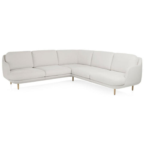 Lune Corner Sectional Sofa Six-Seat
