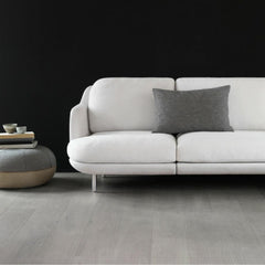 Fritz Hansen Lune Sofa by Jaime Hayon 2 Seat in Black Room