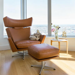 Fritz Hansen Oksen Chair by Arne Jacobsen in Royal Danish Consulate