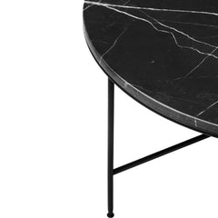 Fritz Hansen Paul McCobb Planner Coffee Table Charcoal Marble Detail