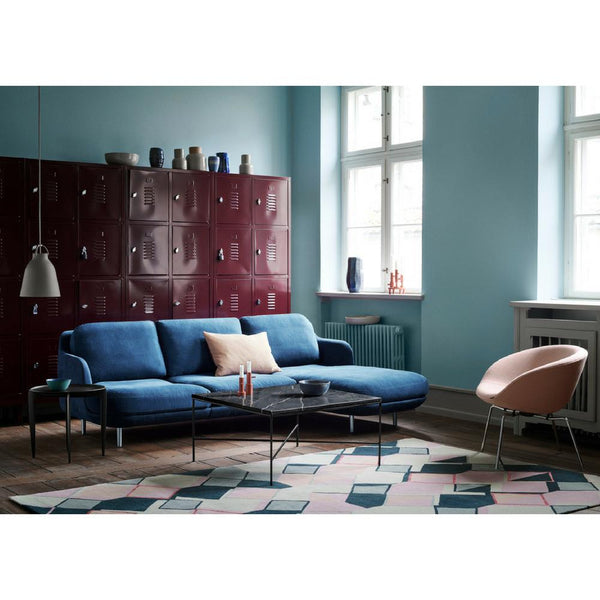 Fritz Hansen Lune Sofa With Chaise Lounge Jh301 Jh302