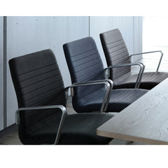 Fritz Hansen Premium Oxford Chairs in Shades of Grey in Office
