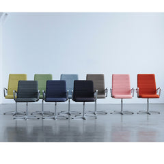 Fritz Hansen Premium Oxford Chairs in New Colors Medium and Low Backs in Room