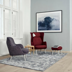 Fritz Hansen Ro Chair and Fri Chair by Jaime Hayon in Copenhagen Showroom