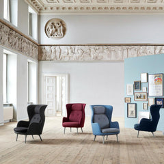 Fritz Hansen Ro Chairs in Designer Selection Colors in Room