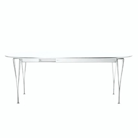 Fritz Hansen Super Elliptical Dining Table - Extendable