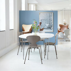 Fritz Hansen Super Elliptical Table in situ with limited edition Ant Chairs