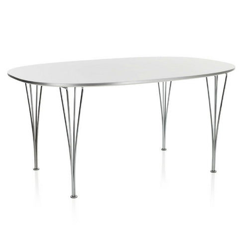 Fritz Hansen Super Elliptical Dining Table - Fixed