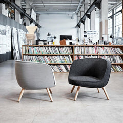 Fritz Hansen Via 57 Chairs by Bjarke Ingels and KiBiSi in Design Library