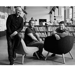 Via 57 Chair Designers Bjarke Ingels, Lars Larsen, and Jens Martin Skibsted of KiBiSi for Fritz Hansen