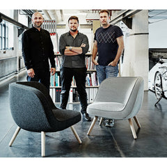 Bjarke Ingels and KiBiSi with Fritz Hansen Via 57 Chairs