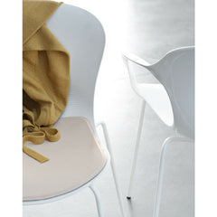 Milk White Nap Chairs Closeup Kasper Salto Nap Chair