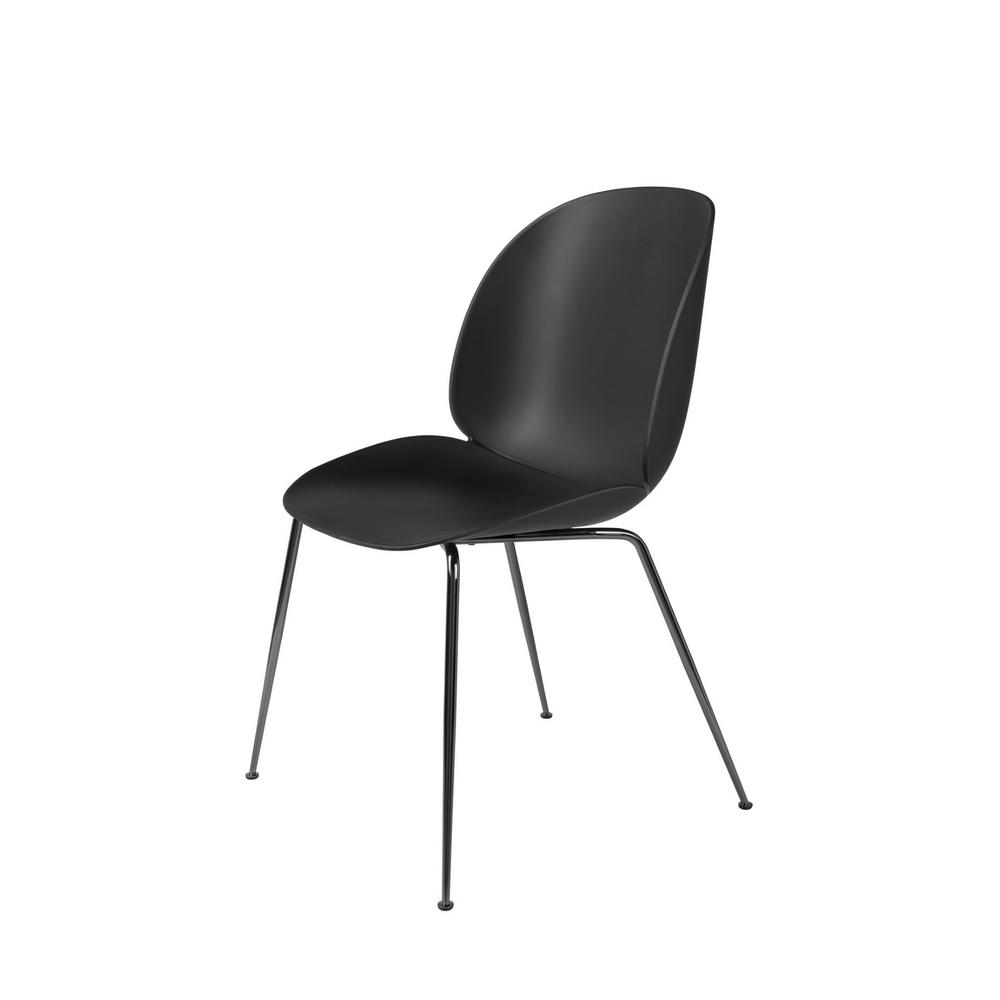 Prime Gubi Beetle Dining Chair Unupholstered Conical Base Caraccident5 Cool Chair Designs And Ideas Caraccident5Info