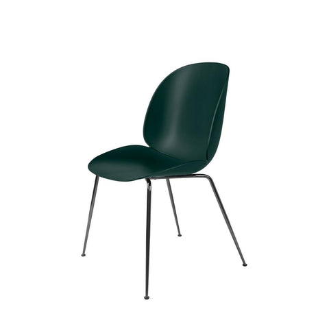 Gubi Beetle Dining Chair - Unupholstered - Conical Base