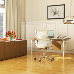 Generation by Knoll Office Chair in White in Room Formway Design Palette and Parlor