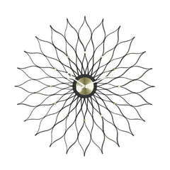 Vitra George Nelson Sunflower Clock Black