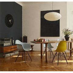 George Nelson Sunflower Clock on Wall in Dining Room Vitra