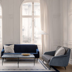 GUBI 9602 Floor Lamp by Paavo Tynell  in Parisian Living Room