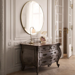 GUBI Wall Mirror with Chest and Bestlite