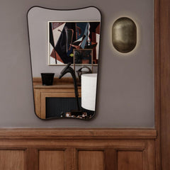 GUBI Gio Ponti F.A.-33 Wall Mirror in situ