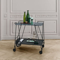 GUBI Mategot Trolley in situ
