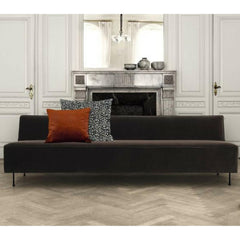 GUBI Modern Line Sofa by Greta Grossman Styled in Room