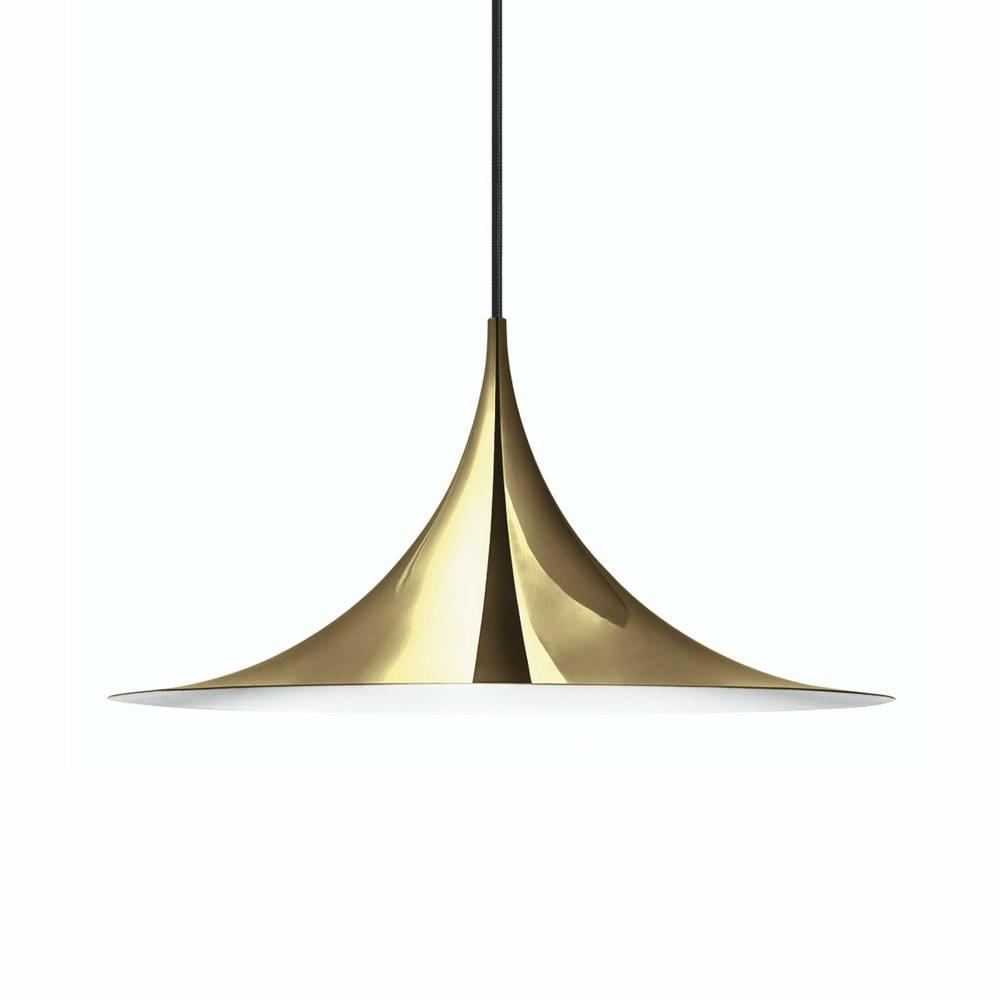 Gubi Semi Pendant Brass Large