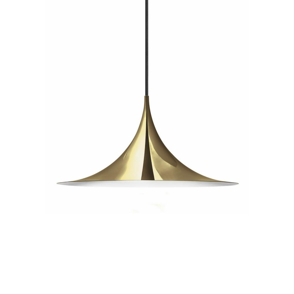 Gubi Semi Pendant Brass Medium
