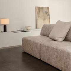 GUBI Wonder Sofa by Space Copenhagen Dedar Eero 007 in living room