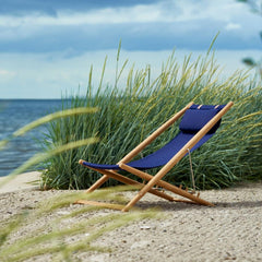 Navy Blue H-55 Lounge Chair by Skargaarden