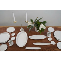 Haand Candelabra with Ripple Series Tableware