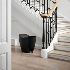 Black Gallery Stool by Hans Sandgren Jakobsen for Fredericia