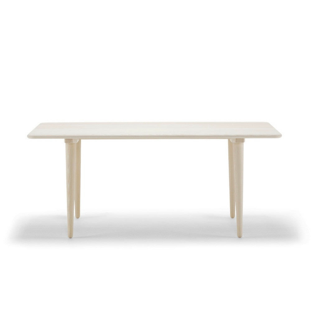 Wegner CH011 Coffee Table Front Oak Soap Carl Hansen & Son
