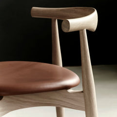 Hans Wegner CH20 Elbow Chair Side Detail Carl Hansen & Son Palette & Parlor