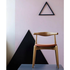 Wegner Elbow Chair in situ in pink room Carl Hansen & Son