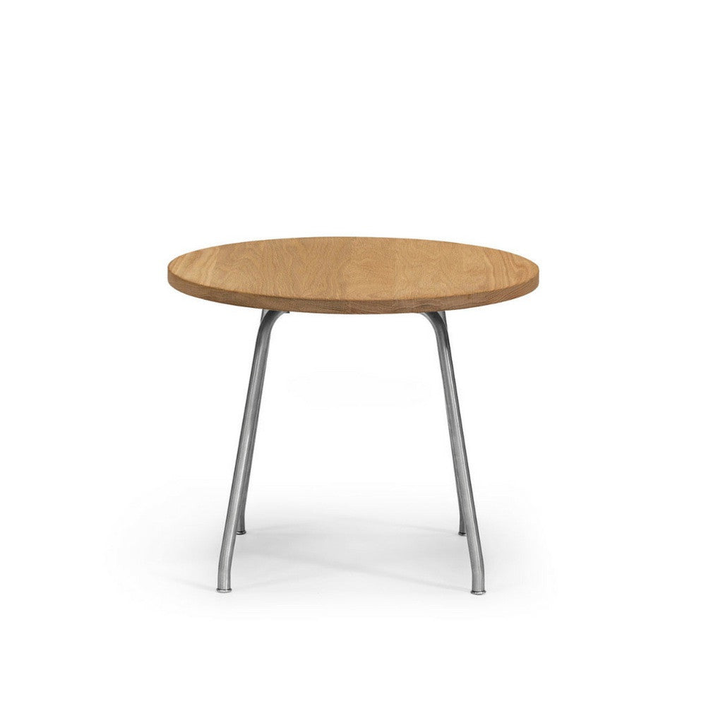 coffee table top view. Wegner Side Table Front View Oak And Stainless Steel Carl Hansen \u0026 Son Coffee Top