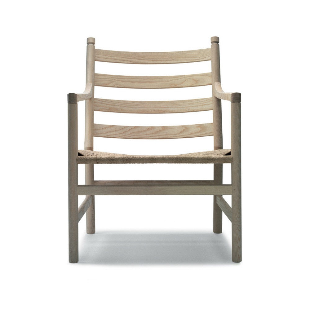 Hans Wegner CH44 Chair Ladderback Oak Natural Paper Cord