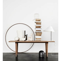 Wegner CH011 Coffee Table Smoked Oak Carl Hansen & Son