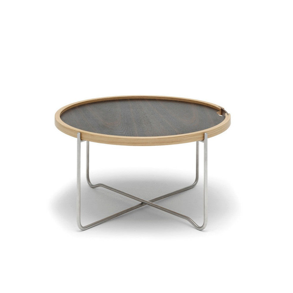 Wegner Tray Table Smoked Oak Carl Hansen & Son
