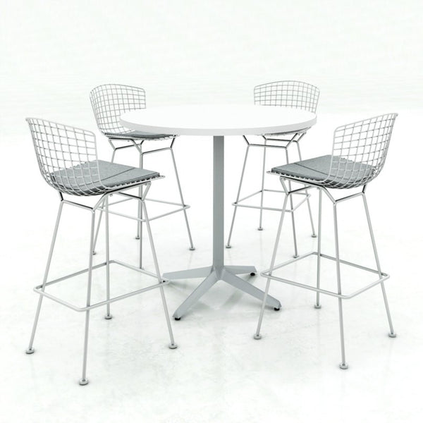 Bertoia Barstool And Counterstool Knoll Palette