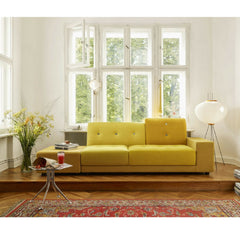 Yellow Polder Sofa in Room Hella Jongerius for Vitra