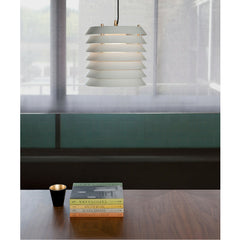 Ilmari Tapiovaara Maija Suspension Lamp over Table by Santa & Cole