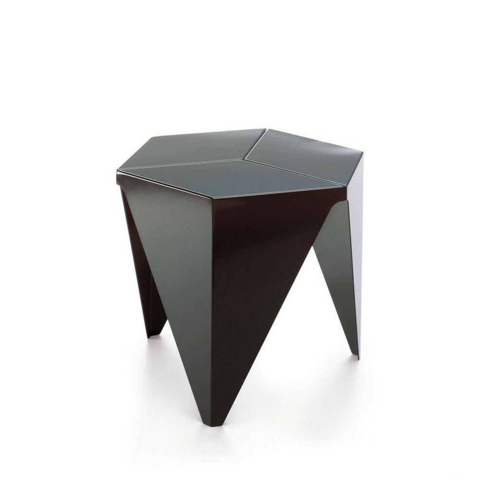 Isamu Noguchi Black Prismatic Table from Vitra